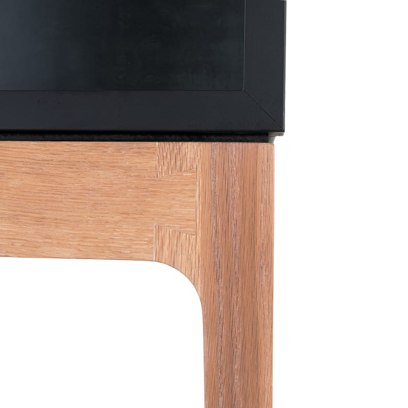 dovetail details on mariana curio by facet furniture
