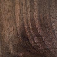 Shadow finish for walnut wood