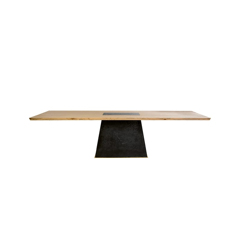 Front view of Leverage Dining Table by Facet Furniture